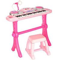 Синтезатор WinFun Rock Star Розовый (2068G-NL)