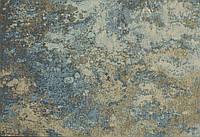 Итальянский безворсовый ковер DECO 103X серо-голубой Sitap 200x285