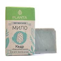 PLANTA Мыло Planta Кедр с голубой глиной 100 гр