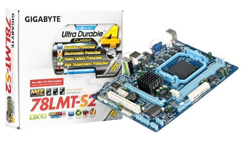 Материнская плата Gigabyte GA-78LMT-S2 Сокет AM3+ / AM3 DDR3 Гарантия Новая