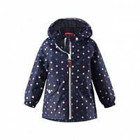 Куртка демисезонная для девочки без утеплителя Reima Hymy 511238, цвет 6989