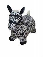 Прыгун игрушка зебра