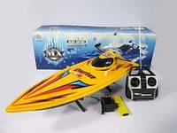 Детская игрушечная лодка Катер аккумулятор MX-0004-8 в коробке