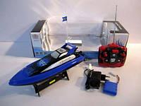 Детская игрушечная лодка  Катер аккумулятор MX-0010-8 в коробке