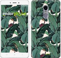 """Чехол на Xiaomi Redmi Note 4 Банановые листья """"3078u-352-817"""""""