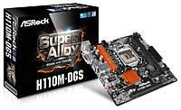 Материнская плата AsRock H110M-DGS Сокет LGA 1151 DDR4 Гарантия Новая