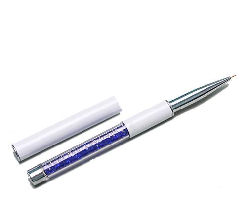 Кисть для росписи ногтей 2,размер 00/1 (ворс:нейлон,ручка с металу,акрилу)  Kodi - Магазин профессиональной косметики Beauty-Prof в Днепре