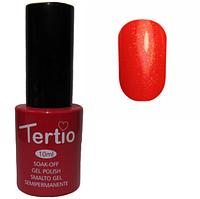 Гель-лак №088 (красный с розовым микроблеском) 10 мл Tertio