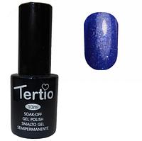 Гель-лак №181 (темно-лазурный с блестками)  10 мл Tertio