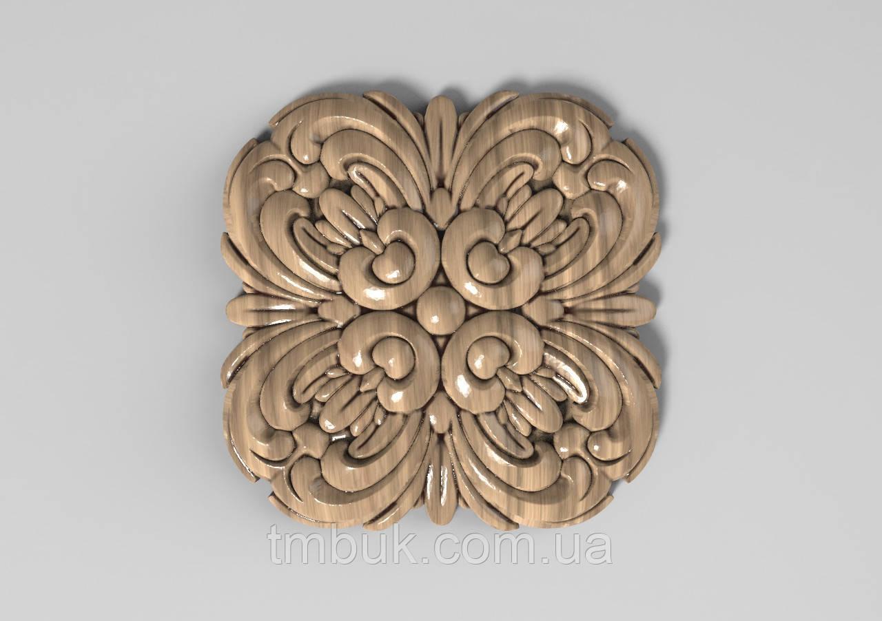 Розетка 47 - 60х60 - декоративная