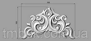 Центральный резной декор 10 - 165х100 мм, фото 2