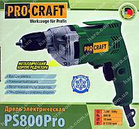 Дрель PROCRAFT PS800Pro