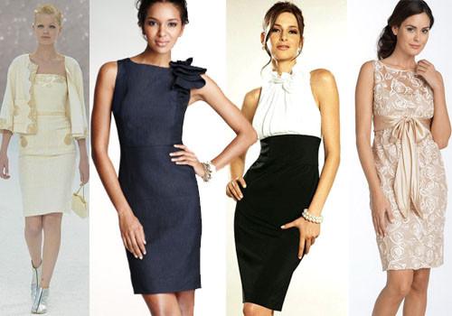 Платья для стильных деловых женщин