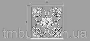 Центральный резной декор 35 - 200х200 мм, фото 2