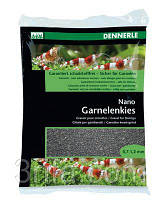 "Грунт для мини-аквариумов Dennerle Nano Garnelenkies, цвет ""Sulawesi schwarz"", фракция 0,7-1,2 мм., 2 кг."