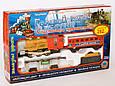 Детская железная дорога Голубой вагон 7013, свет прожектора, дым, длина 282 см, в наборе 12 деталей, фото 2