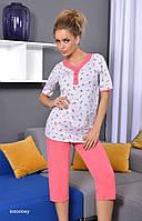 Пижама TARO 811 STEFANIA, размеры   S, 100 % хлопок, Польша, фото 1
