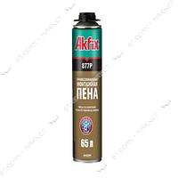 Пена монтажная AKFIX MEGA 877Р зимняя профессиональная 850 мл