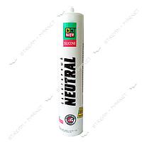 Герметик силиконовый нейтральный BeLife FN-350 прозрачный 310мл
