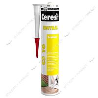 Герметик нейтральный силиконовый Ceresit CSNTR2 Neutral CS16 прозрачный 280мл