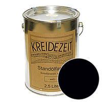 Стандолевая масляная краска полужирная / нижний слой /Zwischenanstrich schwarz, черная 0,75 l , фото 1
