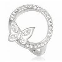 Серебряное кольцо TN944 с кристаллами Swarovski размер 17 Код:4754