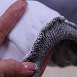 Вязанная шапочка Weave с подкладкой, серая, фото 4
