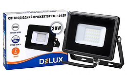 Светодиодный прожектор Delux FMI 10 LED 20W 6500K IP65