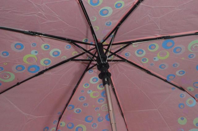 Зонтик женский красный полуавтомат (4832) фото 4
