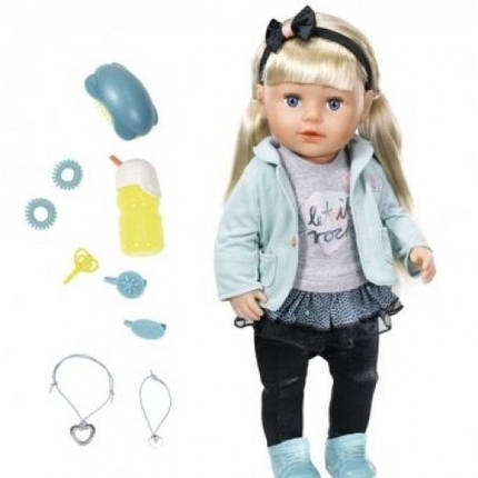 Кукла BABY BORN - СЕСТРЁНКА-МОДНИЦА 43 см с аксессуарами, фото 2