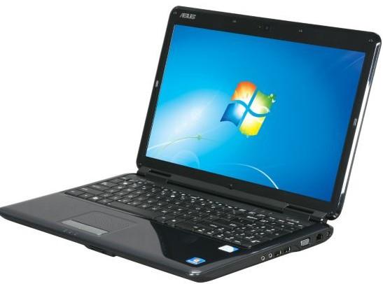 "Ноутбук бу 15.6"" Asus k50ID Core 2 Duo T7250/RAM 3GB/HDD 320/Video GeForce 320m 1GB, фото 1"