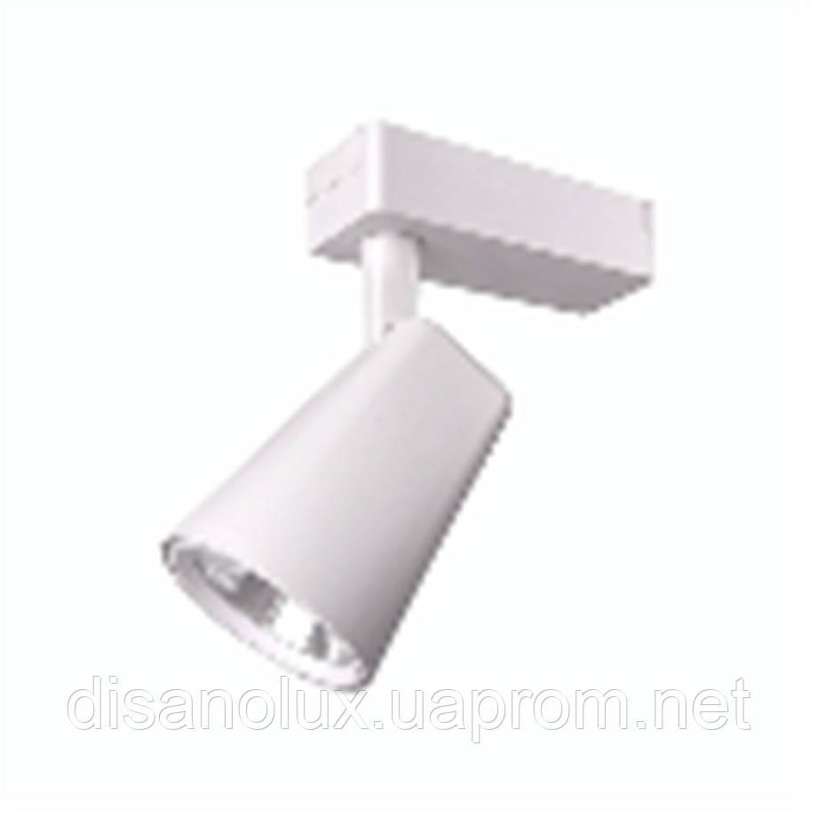 Светильник LED трековый на шинопровод DL4010 белый 10W  4000К