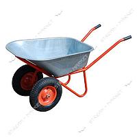 FORTE WB6418-1S Тачка строительная 2-х колесная 320 кг, обьем вода/песок110/200 л, вес 17 кг