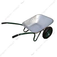 FORTE WB6407 Тачка садовая 2-х колесная 120 кг, объем вода/песок 70/140 л, вес 14 кг