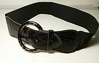 Ремень на Резинке Черный №3