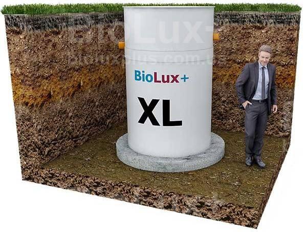 """Автономная канализация BioLux+ """"XL"""" производительностью 1200 л./сутки для 3-5 человек"""