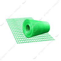 Сетка сварная с полимерным покрытием ячейка 100х50мм d2мм 1.5х25м