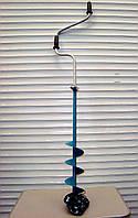 Ледобур Барнаульский Тонар Двуручный 130 мм бур рыбацкий, фото 1
