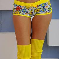 """шорты """"Микс"""" принтованные для занятий спортом, фитнес тренировок, pole dance, фото 1"""
