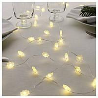 Светодиодное освещение STRALA снежинки