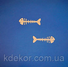 Рыбка (Рыба) Бабочка-галстук №25 заготовка для декора