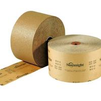 Абразивная бумага SUNMIGHT (желтая) в рулонах для сухой шлифовки 115мм x 50м, P100