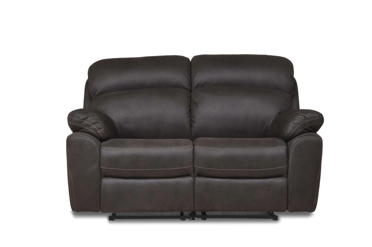 Кожаный двухместный диван Alabama, не раскладной диван, мягкий диван, мебель из кожи
