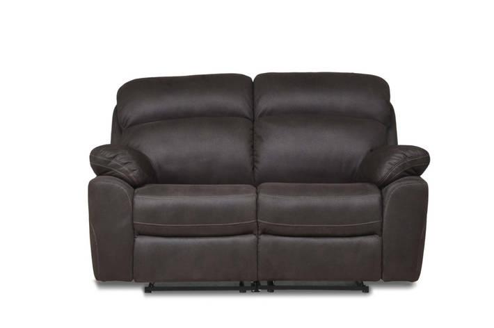 Кожаный двухместный диван Alabama, не раскладной диван, мягкий диван, мебель из кожи, фото 2