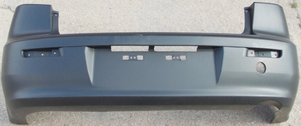 Задний бампер Mitsubishi Lancer X 07- Седан, без отв. П/троник (FPS) F