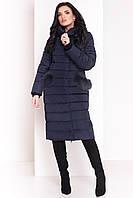 Модный женский пуховик, зимнее пальто женское