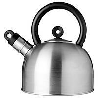 IKEA VATTENTAT Чайник, нержавеющая сталь, черный  (202.395.95)