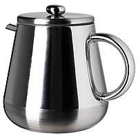 IKEA ANRIK Чайник / кофеварка, нержавеющая сталь  (501.128.68)