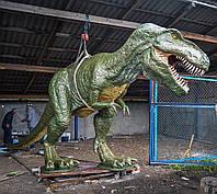 Скульптура динозавра T-REX
