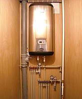 Установка водонагревателя. Киевская область